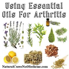Natural Cures Not Medicine: Using Essential Oils For Arthritis