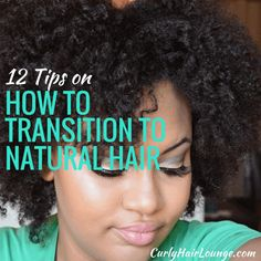 Are you considering or already transitioning to natural hair and don't know quite what to do? Here are my tips they will get you started!