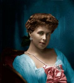 Crown Princess Marie of Romania, born Princess Marie of Edinburgh and later she would become Queen Marie of Romania. by Linnea-Rose