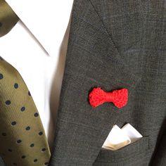 Crochet bow ties men's lapel flower men's accessories fashion