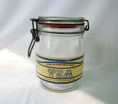Tradewind Importers Glass Canister Tea Jar by GoshenPickers