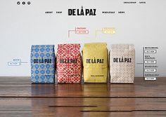 De La Paz Coffee | Website Showcase | The Design Inspiration
