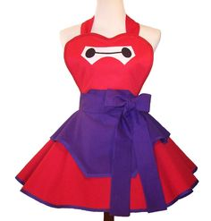 Baymax Apron Baymax Costume Apron Baymax by WellLaDiDaAprons. Omg!!! I want this