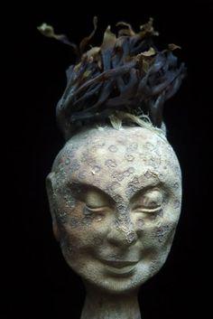 Head by František Skála Pottery Sculpture, Sculptures, Statue, Artist, Inspiration, Biblical Inspiration, Artists, Inspirational, Inhalation