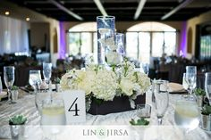 Wooden Box Floral Centerpiece By Tustin Florist
