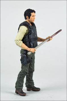 Glen ~ New Walking Dead Action Figures | ... Walking Dead action figures is your own business. Pre-order yours here