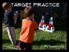 I can hardly wait till it gets warm again. Spray Bottle Target Practice