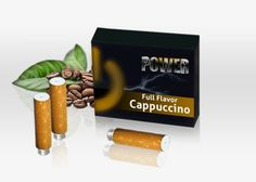 What's cooler than having your favorite morning drink in the palm of your hands? The classic coffee bean taste and aromas we all love can now be found in our Coffee flavored cartridges. Nothing taste better than the rich, uplifting taste of coffee, now you can have that same rich taste with your Power E-Cig every morning, noon and night.  #Power#Cappucino#Cartomizer#love#vapin#vapor#hot#ecig