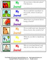Spark young writers with a clever non-food gift in a jar: a Childs Journal Jar. Simple, kid-friendly questions turn journaling sessions into fun!  This printable gift in a jar makes a great gift for