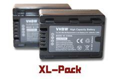 2 x vhbw Akku Set 1600mAh (3.6V) für Camcorder Kamera Panasonic HC-V10, HC-V100, HC-V100M, HC-V500, HC-V500M, HC-V700, HC-V700M wie VW-VBK180. - http://kameras-kaufen.de/vhbw/2x-akku-sparset-vhbw-akku-1600mah-3-6v-fuer-kamera