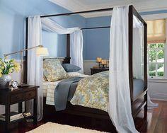 decoracion facil camas con dosel