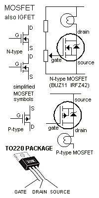 PNP and NPN Darlington Pair Transistor Amplifier Circuits
