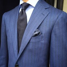 Suit by Cesare Attolini   shirt by Finamore 1925   tie and pocketsquare by Viola Milano