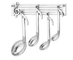 These musical note measuring spoons. | 19 Unexpected Ways To Display Your Love Of Classical Music