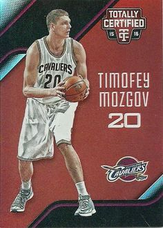 2015-16 TOTALLY CERTIFIED RED #147 TIMOFEY MOZGOV 130/149 CAVS 50 CENT SHIPPING…