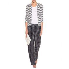 mytheresa.com - Isabel Marant - GEMUSTERTER BLAZER MALONE - Luxury Fashion for Women / Designer clothing, shoes, bags