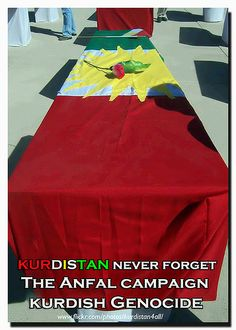 The Kurdish genocide . The Anfal campaign
