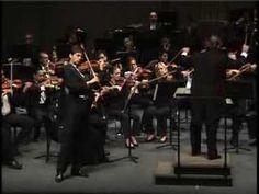 Freitas Branco Violin Concerto, 2nd movement