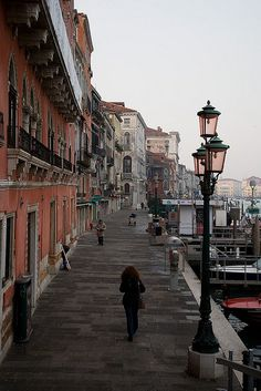 Venice, Italy #FinishTheMission #BusinessAsMission Walked this walk many times while on my honeymoon, miss Italy!
