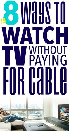 Did you know there were 8 ways to watch TV without paying for cable? Start saving your family money today! Apartment Decoration, Decoration Bedroom, Room Decor, Saving Ideas, Money Saving Tips, Cable Tv Alternatives, Tv Hacks, Netflix Hacks, Cut Cable