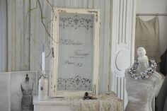 Deko-Objekte - Reizendes antikes Shabby-Fenster mit Geschichte - ein Designerstück von Elflora bei DaWanda