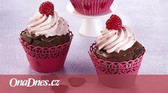 Čokoláda je zaručeným afrodiziakem. Připravte na dnešní večer pro svou lásku tyto neodolatelné muffiny. Cupcakes, Desserts, Food, Tailgate Desserts, Cupcake Cakes, Deserts, Essen, Postres, Meals