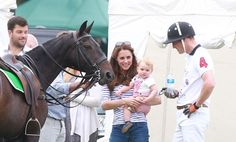 Kate Middleton and Prince George made a surprise appearance at Prince William's polo match - Photo 1 | Celebrity news in hellomagazine.com