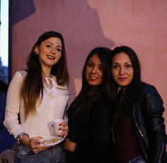 Students at Camplus Catania movie night