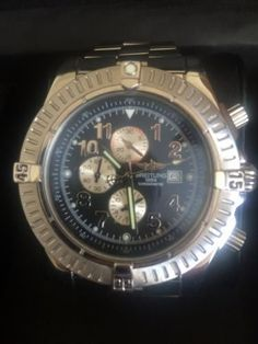 Breitling Super Avenger Titanium incl. Box and papers! #Breitling