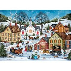 a possible contender for my christmas puzzle this year christmas jigsaw puzzles christmas puzzle