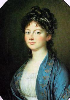 Marie Sophie of Hesse-Kassel, Queen of Denmark by Jens Juel (1745-1802)