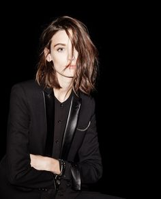 The Kooples Jacket with tuxedo leather collar -