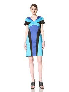 Chetta B Women's V-Neck Colorblock Dress, http://www.myhabit.com/redirect/ref=qd_sw_dp_pi_li?url=http%3A%2F%2Fwww.myhabit.com%2F%3Frefcust%3D3J5AEGE6RETUPZVS5GMHNTDLXU%23page%3Dd%26dept%3Dwomen%26sale%3DA2VKIPYLC3CILU%26asin%3DB00A8BVUKU%26cAsin%3DB00A8BVX7A