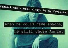True. But yet he gave his life for Katniss………