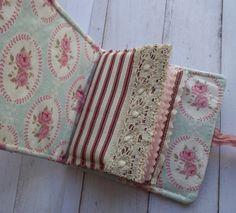 Linen Needle Case - inside by pantsandpaper via folksy