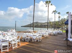 Another Beautiful Wedding At The Recently Remodeled Oceanview Room In Point Loma Displayed Market Lights