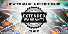 How To Make A Credit Card Extended Warranty Claim Miles Credit Card, My Credit, Small Business Credit Cards, Saving Money, Money Savers, Ways To Save Money, Get One, How To Find Out, Let It Be