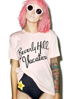 Wildfox Couture Beverly Hills Vacation Vintage Tee