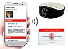 HealthID introduces NFC medical bands and cards - NFC World