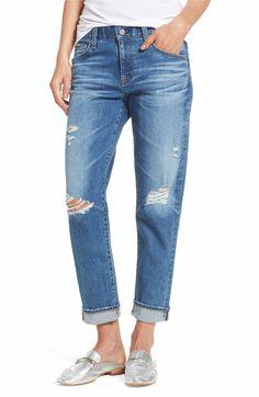 e42a96579fb Nordstrom Anniversary Sale Wants · Main Image - AG Ex-Boyfriend Crop Slim  Jeans (15 Years Nebula) Ex