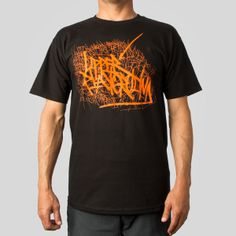 Handstyle 05 Tee in Black Playground Breaking Bad Costume, Playground Design, Lettering, Costumes, Tees, Cotton, Mens Tops, T Shirt, Black
