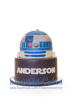 Star Wars cake, r2d2 cake