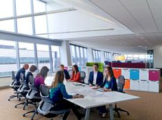 First look: GlaxoSmithKline's double LEED Platinum office