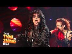 """Marta Jandová jako Alice Cooper - """"Poison""""   Tvoje tvář má známý hlas - YouTube Alice Cooper, Concert, Youtube, Concerts, Youtubers, Youtube Movies"""