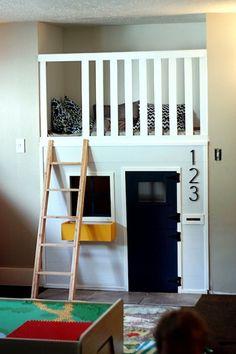Repurposed Closet in a Kids Room... WOW!.