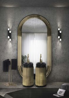 Shopping Guide: Unique Bathroom Design Ideas From The Top Luxury Brands ➤ To see more news about the Interior Design Shops in the world visit us at www.interiordesignshop.net/ #interiordesign #bathroom #luxurybrands @interiordesignshop @koket @bocadolobo @delightfulll @brabbu @essentialhomeeu @circudesign @mvalentinabath @luxxu @covethouse_