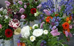 Some things to consider when planning a cutting garden: great clickable list of annuals and perrenials