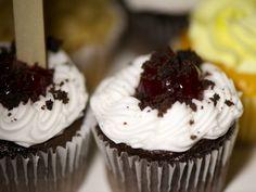 The Fort Wedding Reception Morrison Colorado Chocolate Cupcakes