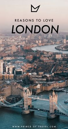 It's easy to love London! Here are all the reason you'll fall in love with England's capital city. #london #england