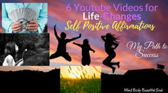 6 Youtube Videos for Life-Changes Self Positive Affirmations. My path to success. I saw positive changes in life and my habits. #affirmations #faith #hope #life #lawofattraction #positiveaffirmations #success via @Mind Body Beautiful Soul Positive Changes, Breathing Techniques, Change Your Mindset, Transform Your Life, Affirmation Quotes, Beautiful Soul, Positive Affirmations, Law Of Attraction, Self